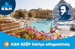K&H SZÉP kártya Kanyon Aktív