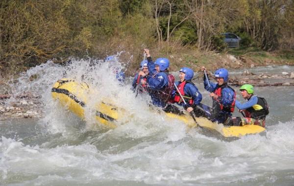 Bela rafting hétvége