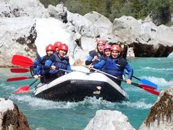 Soca Rafting – canyoning – gekko